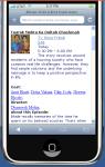 Whats On India Tv Guide App J2me screenshot 3/6