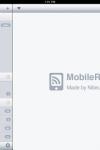 MobileRSS HD ~  Google RSS News Reader screenshot 1/1