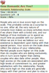 How Romantic Are You screenshot 3/3
