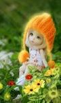 Flower Doll Live Wallpaper screenshot 1/3