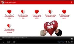 Social Dating Guide screenshot 1/3