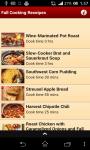 Fall Cooking Receipes screenshot 1/4