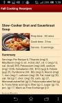 Fall Cooking Receipes screenshot 2/4