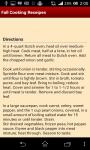 Fall Cooking Receipes screenshot 4/4