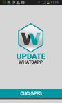 Update WhatsApp  screenshot 1/6