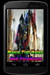 Movie Plot Holes And Paradoxes screenshot 1/3