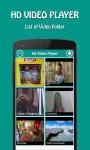 Video Player HD screenshot 1/6