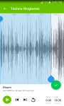 Techno Ringtones free screenshot 5/6