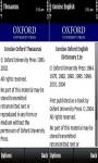 Oxford Mini English Dictionary and Thesaurus screenshot 1/3