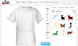 Design a t-shirt and print it screenshot 2/4