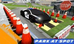 Highway Police Car Parking 3D screenshot 1/3