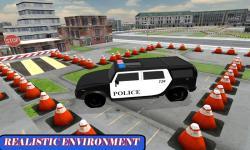 Highway Police Car Parking 3D screenshot 2/3