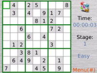 ImTOO BlackBerry Sudoku screenshot 1/1