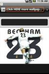 Cool David Beckham Wallpapers screenshot 2/2