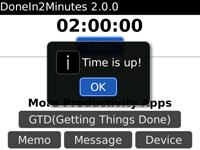 DoneIn2Minutes screenshot 1/1