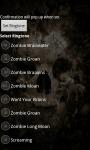 Zombie Ringtones HD screenshot 4/5
