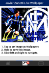 Javier Zanetti Live Wallpaper Free screenshot 4/5