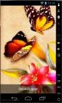 Colorful Butterflies Live Wallpaper screenshot 1/2
