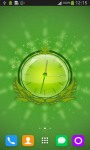 Green Nature HD Clock screenshot 1/6