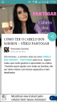 Fernanda Caroline Blog screenshot 5/6