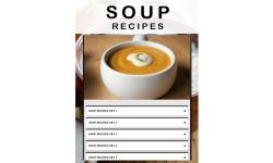 Soup recipe screenshot 1/3