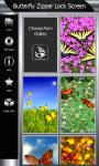 Best Butterfly Zipper Lock Screen screenshot 4/6