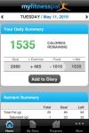 Calorie Counter & Diet Tracker by MyFitnessPal screenshot 1/1