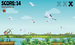 Duck Bow Hunt Free screenshot 2/3