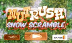 Nut Rush 3 - Snow Scramble screenshot 1/6