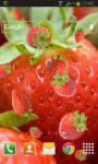 Strawberry Live Wallpaper HD Free screenshot 2/2