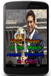 Most Player of the Match Award Winners in ODIs screenshot 1/3