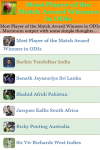 Most Player of the Match Award Winners in ODIs screenshot 2/3