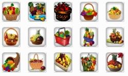 Basket Fruits Onet Classic Game screenshot 1/2