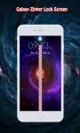 Galaxy Zipper Lock Screen screenshot 1/6