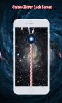 Galaxy Zipper Lock Screen screenshot 3/6