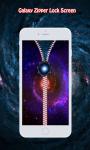 Galaxy Zipper Lock Screen screenshot 4/6