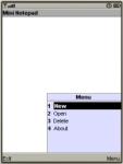 Mini Notepad screenshot 1/1