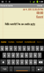 Classic Notes with App Box lite screenshot 5/5