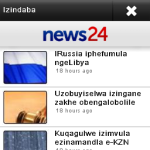 News24 isiZulu screenshot 1/2