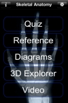 Skeletal Anatomy 3D - Quiz and Reference screenshot 1/1