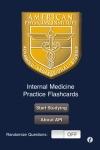 Internal Medicine Practice Flashcards screenshot 1/1