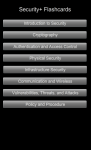 Security Plus Flash Cards screenshot 1/2