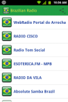 Brazilian Radio screenshot 1/4