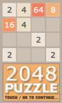 2048 Puzzle - Free screenshot 1/4