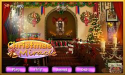 Free Hidden Object Games - Christmas Miracle screenshot 1/4