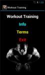 Workout Training Exercise screenshot 2/4