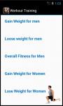 Workout Training Exercise screenshot 3/4
