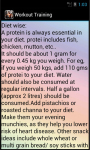 Workout Training Exercise screenshot 4/4
