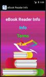 eBook Reader Info screenshot 2/4