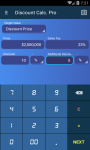 Discount Calculator free screenshot 1/5